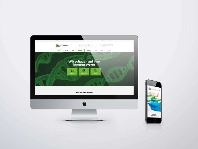 Blutlabor Hamwi Website