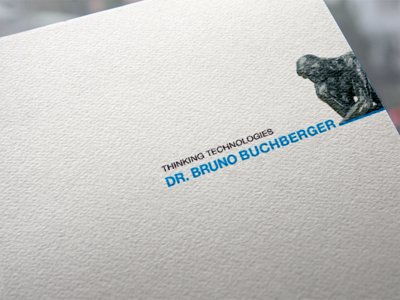 Buchberger Thinking Technologies Logoentwicklung