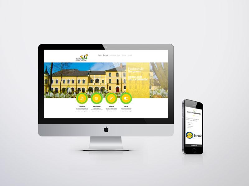 Fachschule Bergheim Website