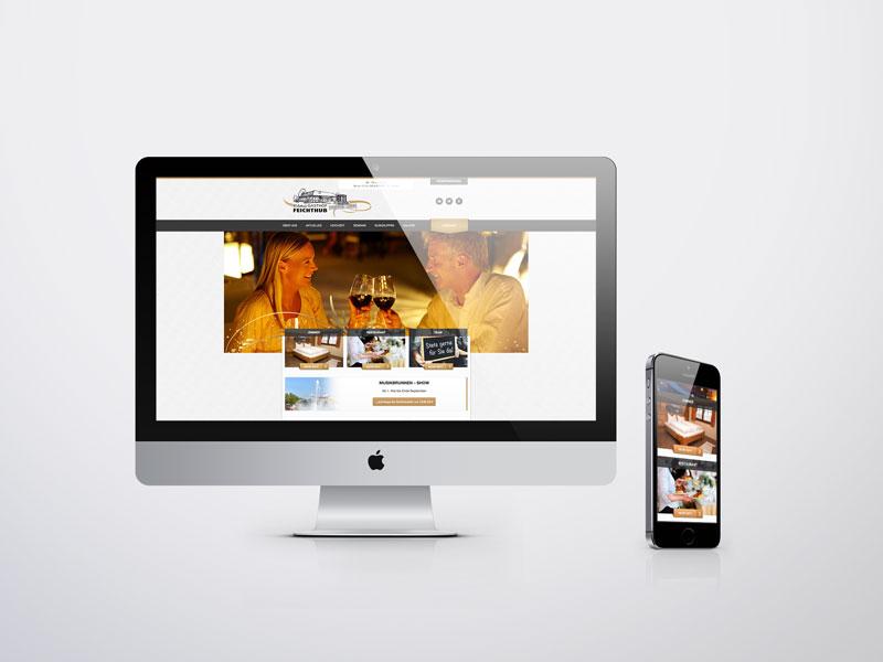 Erlebnisgasthof Feichthub Website