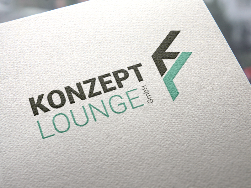 Konzept Lounge Logoentwicklung