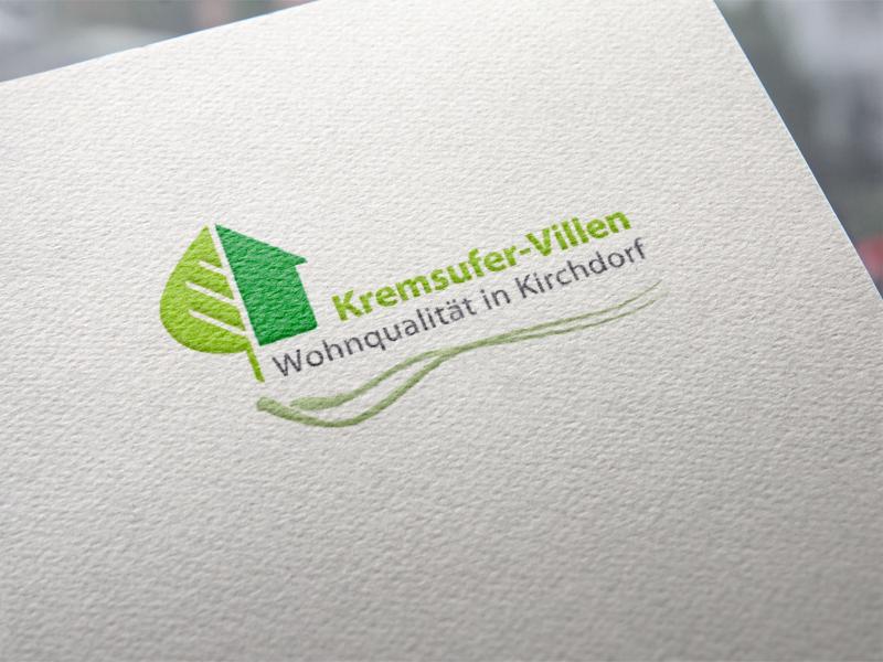 Kremsufer-Villen Kirchdorf Logoentwickklung