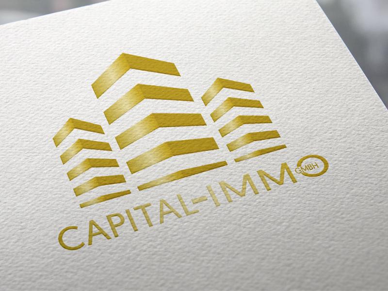 Capital Immo Logoentwicklung