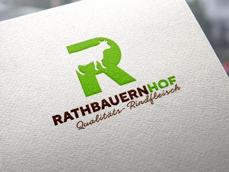 Rathbauernhof Familie Hartl Logoentwicklung