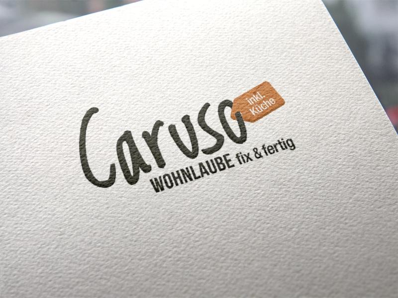Schnellnberger Caruso Wohnlaube Logoentwicklung