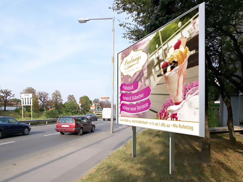 Konditorei Preslmayr 16-Bogen-Plakat