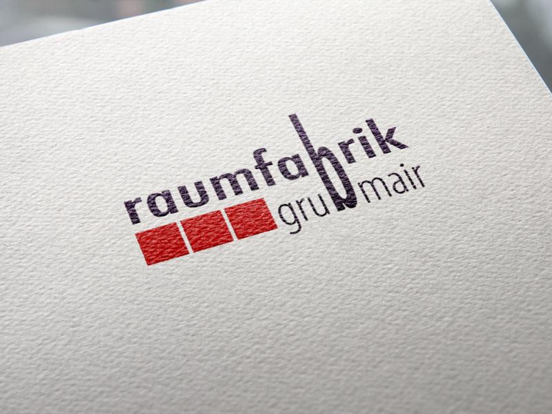 Raumfabrik Logoentwicklung