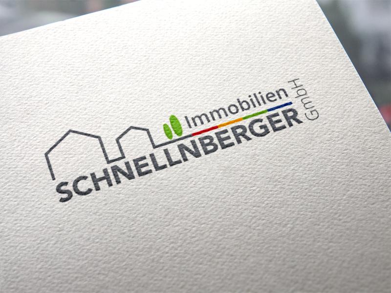 Schnellnberger Immobilien Logoentwicklung