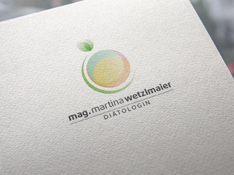 Mag. Martina Wetzlmaier Logoentwicklung
