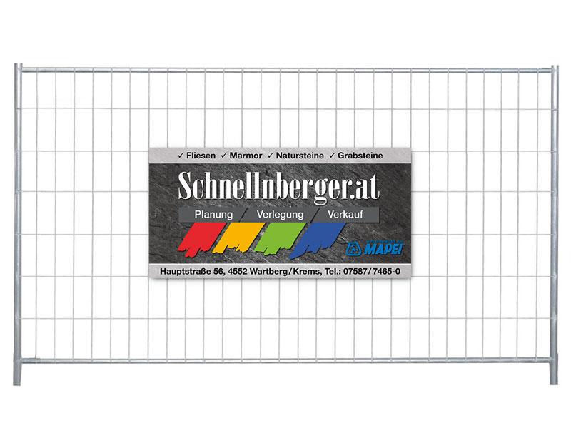 Schnellnberger Baustellentafel