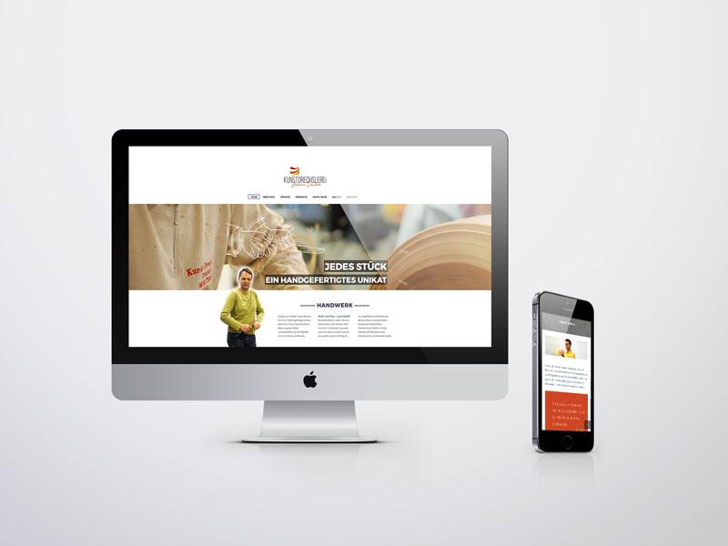 Kunstdrechslerei Deutsch Website