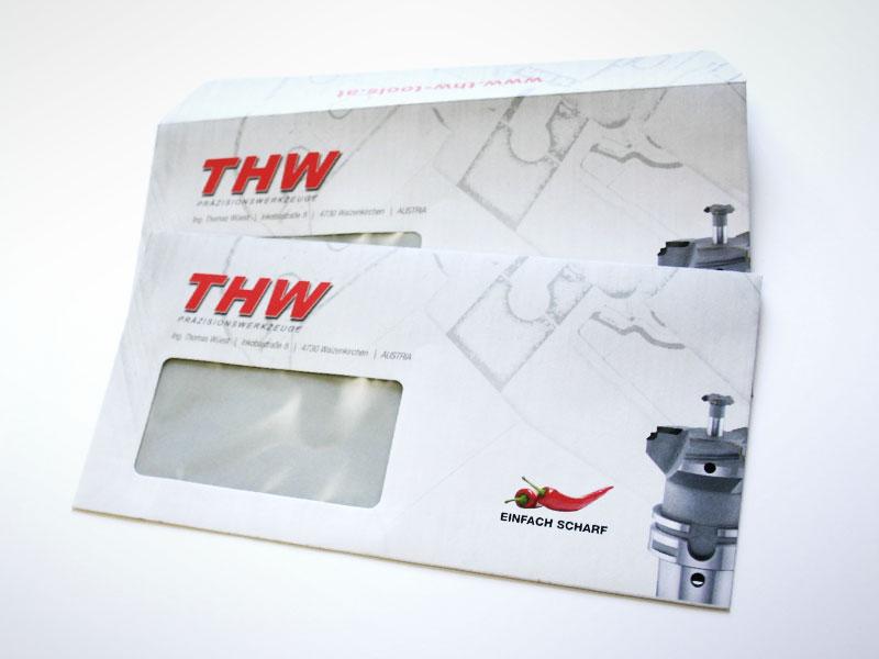 THW Präzisionswerkzeuge Kuverts