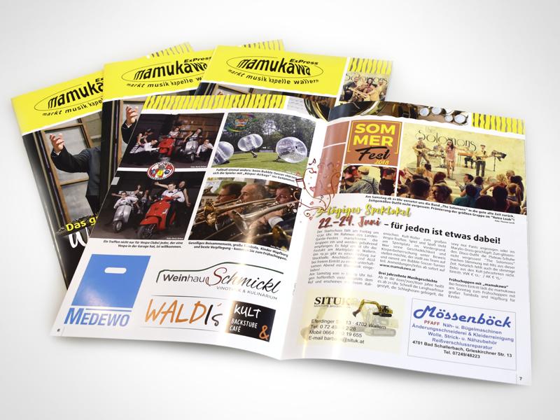 Marktmusikkapelle Wallern Mamukawa Magazin