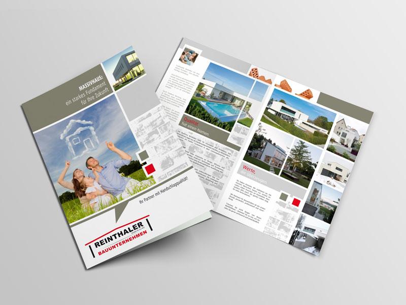 Reinthaler Bauunternehmen Broschuere