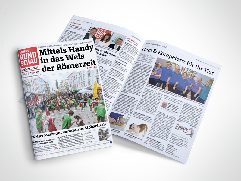 Tierklinik Wels PR-Bericht Bezirksrundschau