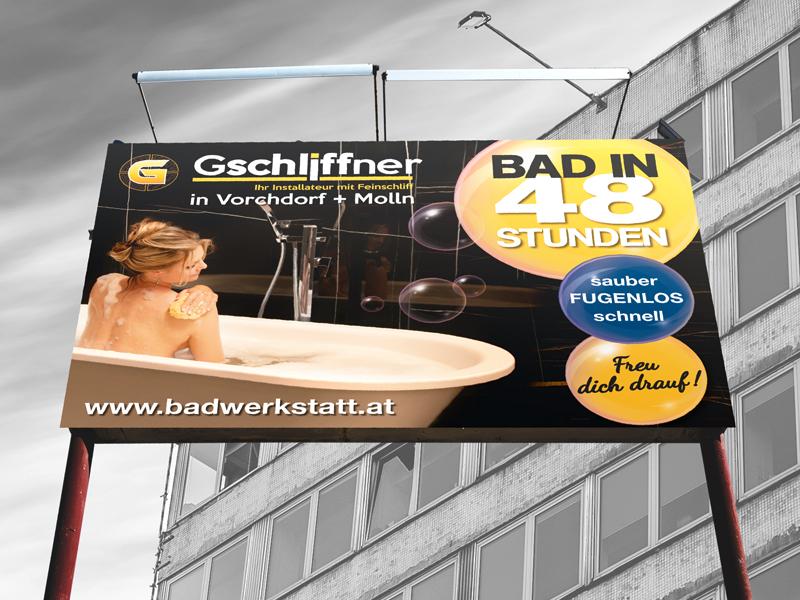 Gschliffner 16-Bogen-Plakat
