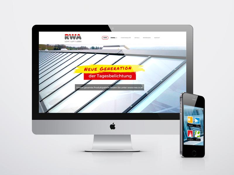 RWA Industrieverglasungen Website