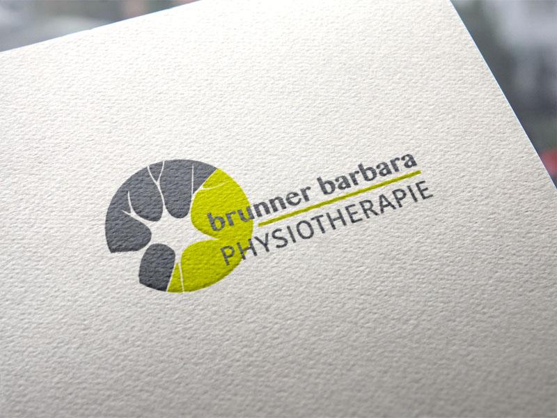 Barbara Brunner Physiotherapie Wallern Logoentwicklung