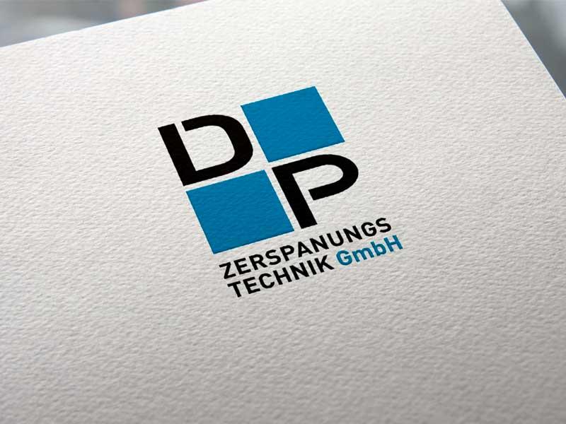 DP Zerspanungstechnik Logoentwicklung