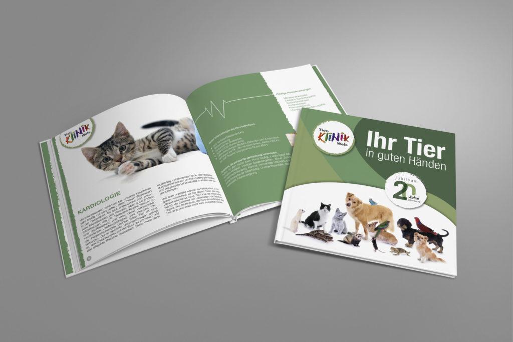Tierklinik Wels Broschüre