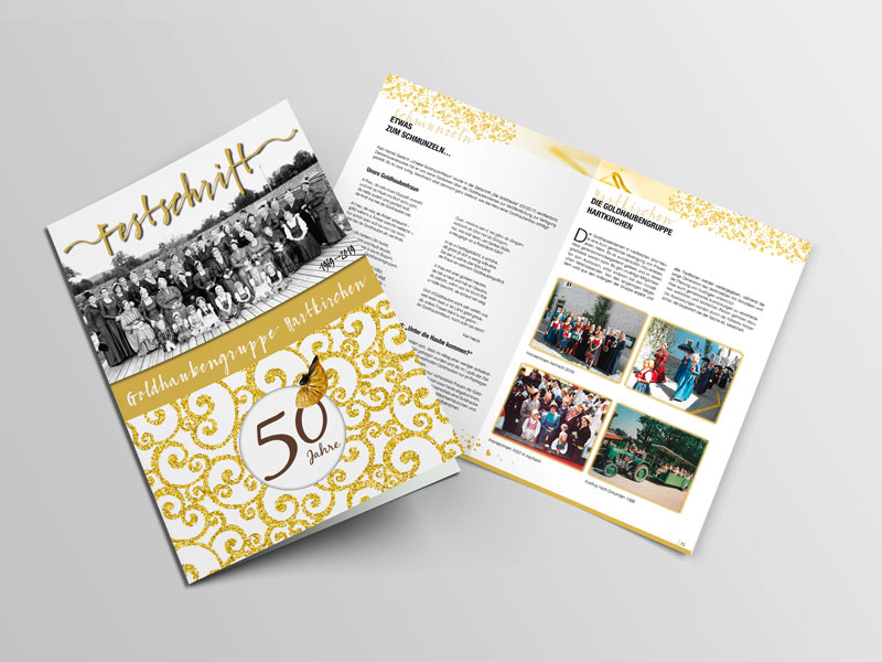 Goldhauben Hartkirchen Broschüre