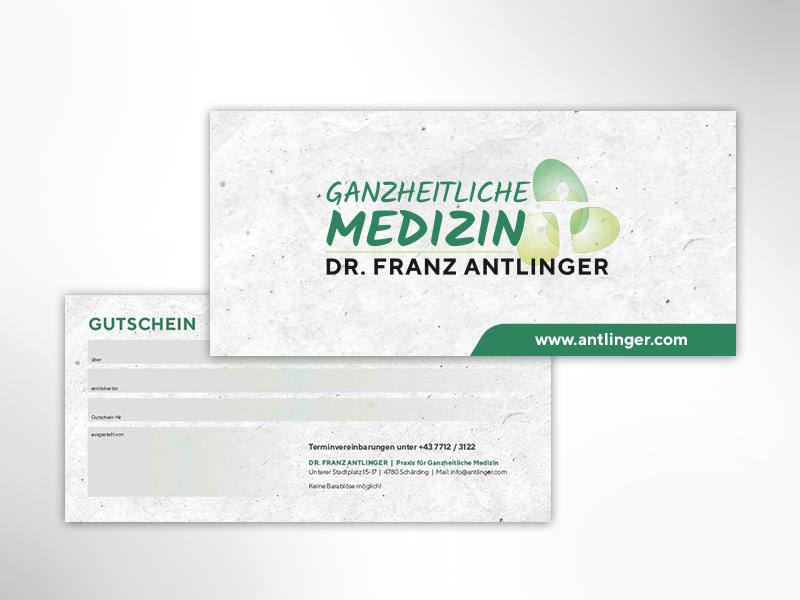 Dr. Antlinger Gutscheine
