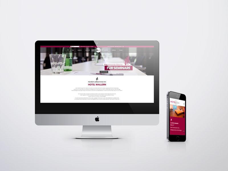 Hotel Wallern Website mehrsprachig