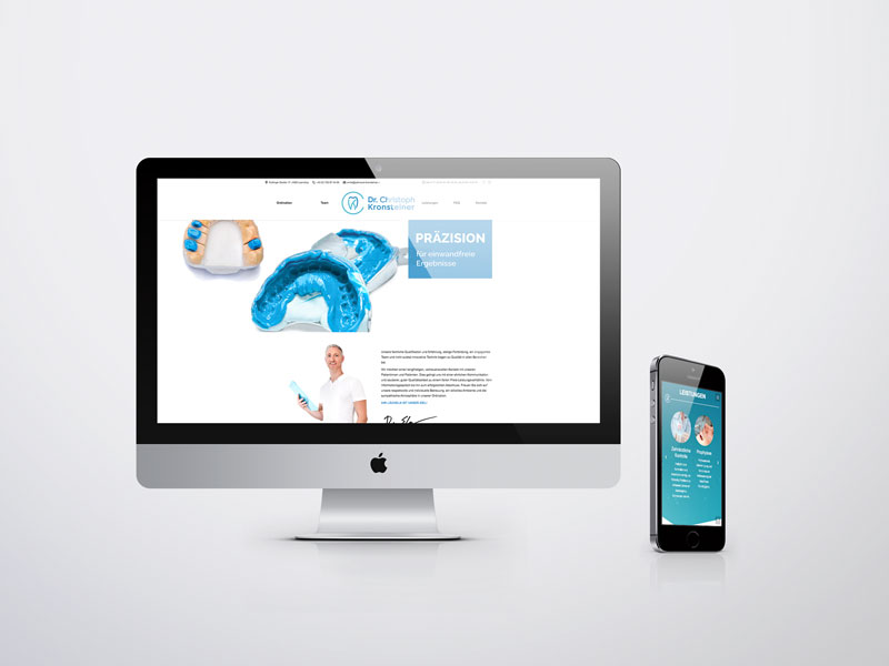 Dr. Christoph Kronsteiner Website
