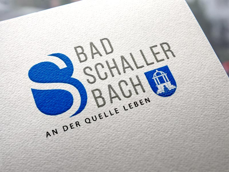 Gemeinde Bad Schallerbach Logoentwicklung