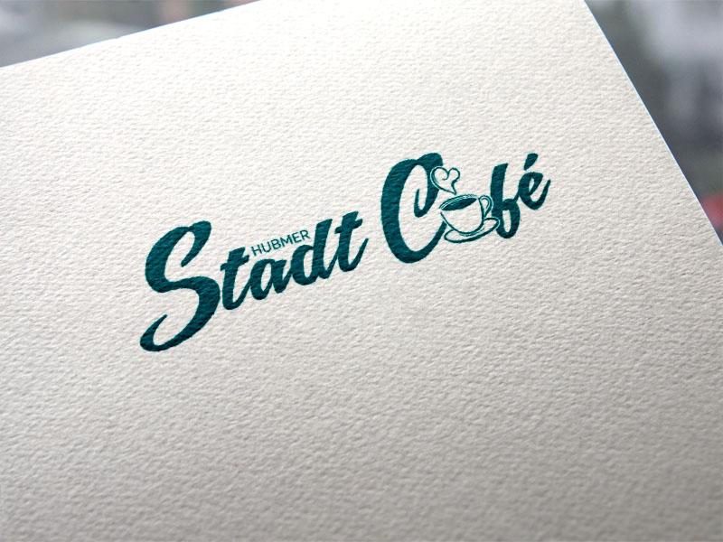 Hubmer Stadt Cafe Logoentwicklung