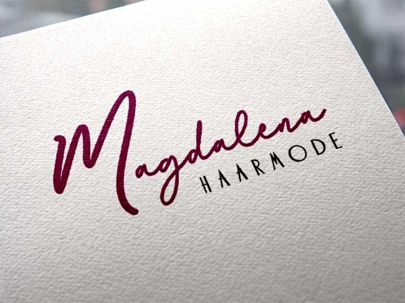 Magdalena Haarmode Logoentwicklung