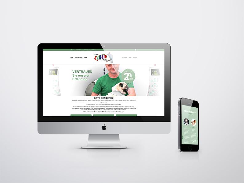 Tierklinik Wels Website