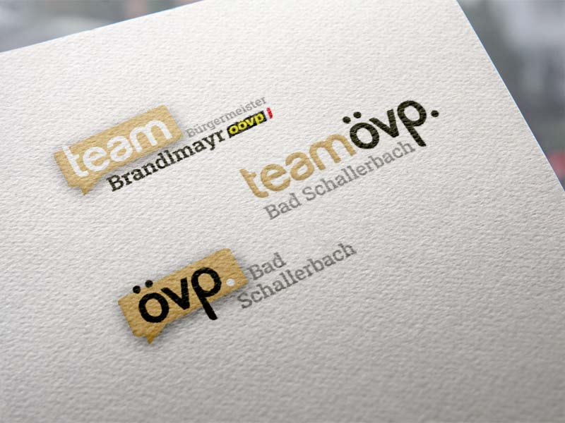 ÖVP Bad Schallerbach Logos