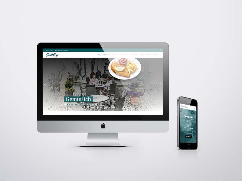 Hubmer Stadt Cafe Website